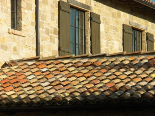 Mediterranean Roofing Tiles Mixed