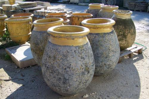 Ancient Vintage French Pots