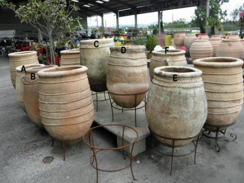 Large Garden Antique Moroccan Pots