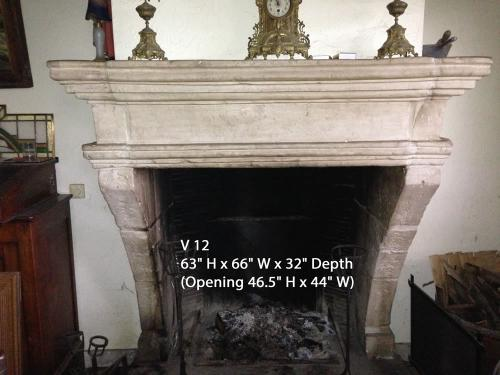 Marble Reproduction Fireplace