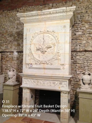 Fireplace with Trumeau