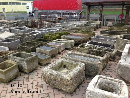 Large Inventory of Old Troughs