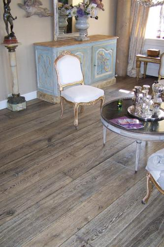 French Wood Floor Grey