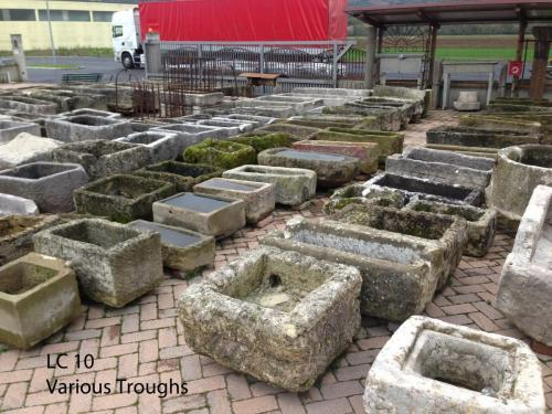 Garden Antique Troughs