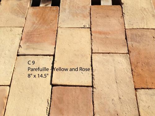 Parefuille  Yellow Rose-Terracotta