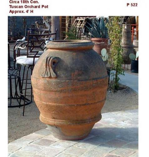 Vintage Italian Terracotta Vats